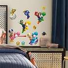 Nintendo   New Super Mario Wii Peel & Stick Wall Decals