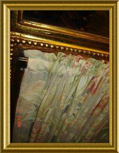 ANTIQUE French Empire style 19th Cent. 3 fold Screen With dated 1857