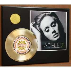 Adele 24kt Gold Record LTD Edition Display ***FREE PRIORITY SHIPPING
