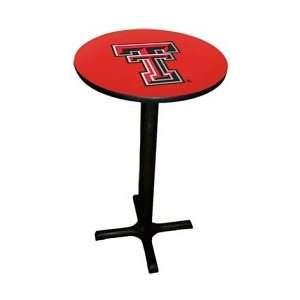 Texas Tech Red Raiders Black Base Game Room Table