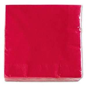 CONVERTING Paper Napkins, Two Ply, 13 x 13, Real Red, 1200