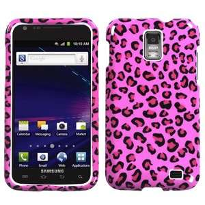 For Samsung Skyrocket Galaxy S II 2 HARD Case Snap on Phone Cover Pink