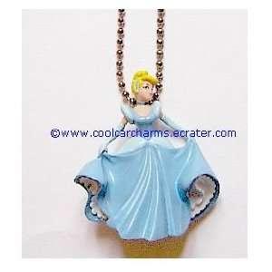New RARE 3 D PVC Disney Princess Cinderella Figure Rearview Mirror Car