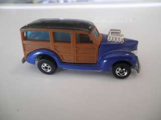 1979 Vintage Hot Wheels Diecast Woody Blue Malaysia