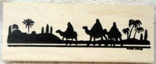 Northwoods rubber stamps Christmas Three Kings Border