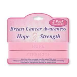 Breast Cancer Awareness Band Bracelet Case Pack 72