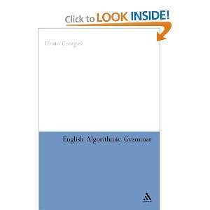 : English Algorithmic Grammar (9780826487773): Hristo Georgiev: Books