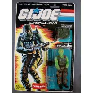 Beach Head 1986 MOC GI JOE Action Figure Mint on Card