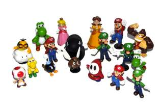 New Lot 18 Super Mario Bros Standing Figure SM2
