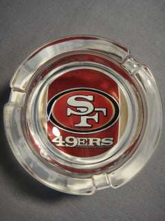 YOU ARE BUYING A BRAND NEW, SAN FRANCISCO 49ERS LOGO ASHTRAY.