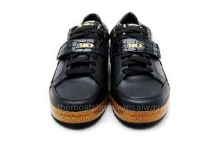 310 Motoring Mens Shoes Ligier 31135 Black/Gold