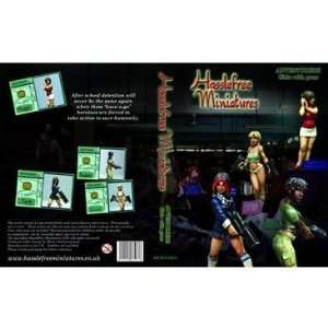Hasslefree Miniatures   Adventurers Girls With Guns Toys & Games