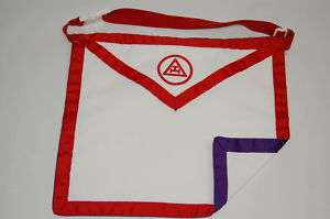 Masonic Apron York Rite Chapter/Council Reversable NEW