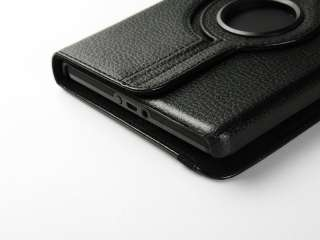 For Kindle Fire 360°Rotating Case/Car Charger/USB Cable/Stylus