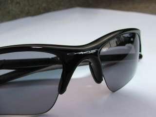 Oakley Half Jacket XLJ Jet Black with light grey lenses