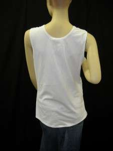NWT NARCISO RODRIGUEZ White Cotton Tank Top US 8 $295