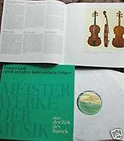 FRANCO GULLI pl Violin Music on STRADIVARIUS K M