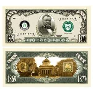 Ulysses S. Grant Million Dollar Bill Case Pack 100 Toys & Games