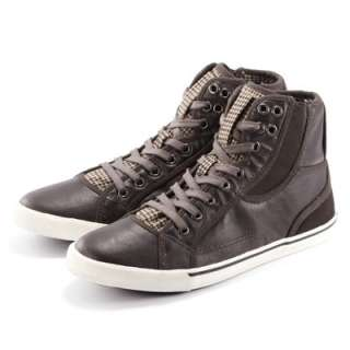 US Size 6 11 New Mens Leather Fashion Lace Up Boots Sneaker Shoes 3