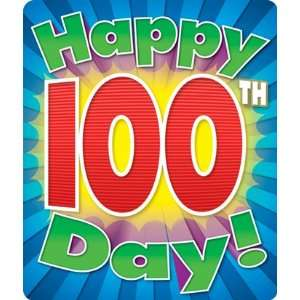 Happy 100th Day Stickers Toys & Games