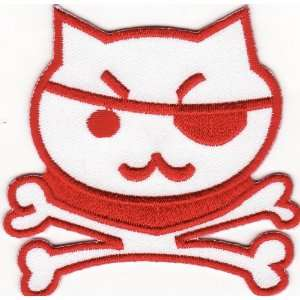 Hello Kitty Embroidered Iron on Patch H23 Arts, Crafts & Sewing