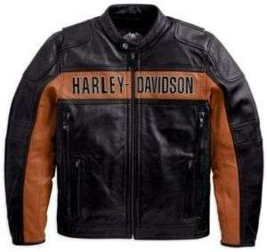 HARLEY DAVIDSON® MENS CLASSIC LEATHER JACKET 98014 10VM