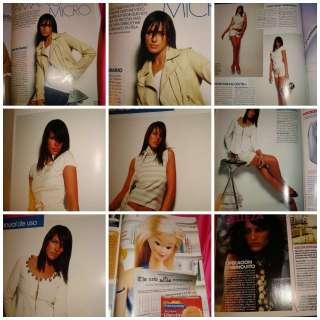 ELLE Spain Ines SASTRE Heidi KLUM Anna MOUGLALIS 2003