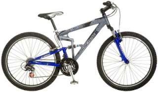 Mongoose 26 Mens Exile 21 Speed Dual Suspension Mountain Bike