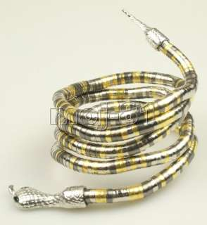 Tibetan Silver Multicolor Snake Shape Bracelet/Girdle/ Necklace