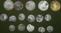 Lot 16 Antique Turkish Ottoman Arabic Islamic Coins