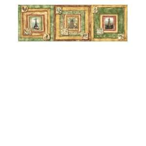 Wallpaper Kitchen & Bath Resources Global treasure Border CR061182B