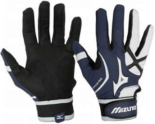 Mizuno Vintage   Adult   Pro Batting Gloves G3   Navy 2XL Pair