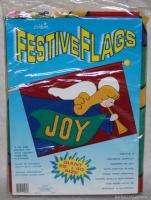 New Christmas Flag Joy Trumpet Angel Nylon Holiday Decor 28 x 40
