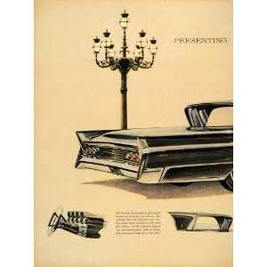 Mark V Ford Motorcar Auto   Original Print Ad