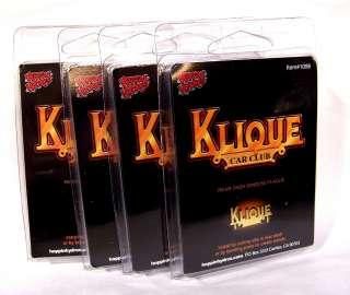 NEW Hoppin Hydros 1/24 scale Lowrider Car Club Plaque KLIQUE (4 pack