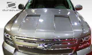 07 10 Chevy Avalanche Hot Wheels DURAFLEX Hood