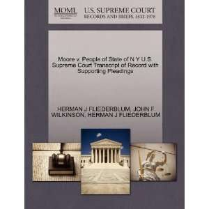 Moore v. People of State of N Y U.S. Supreme Court