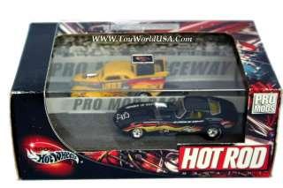 100% Hot Wheels Hot Rod Magazine Pro Mods 37 Chevy & 67 Corvette