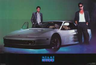 Miami Vice (TV) 27 x 40 TV Poster, Don Johnson, Style C
