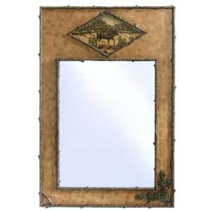 Woolrich Moose Tracks Mirror:  Home & Kitchen