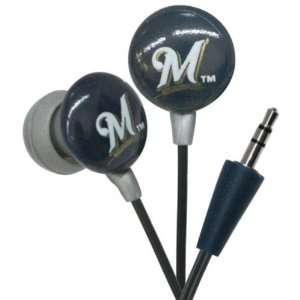 Milwaukee Brewers MLB Earphones Case Pack 24 Electronics
