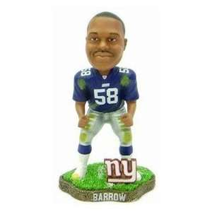 Mike Barrow Game Worn Forever Collectibles Bobblehead