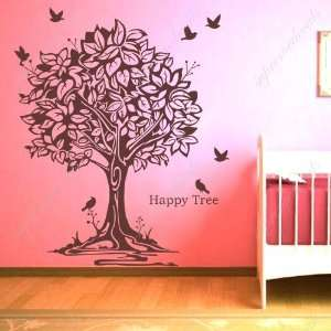 Made in US   Free Custom Color   Free Squeegee  Happy tree