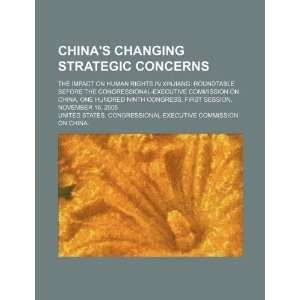 Chinas changing strategic concerns the impact on human rights