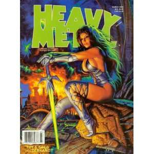 Heavy Metal March 2000 Books