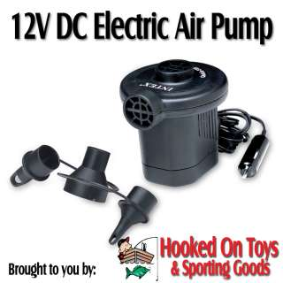 Intex 66626   Quick Fill 12V DC Electric Inflatable Air Pump