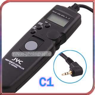 JYC Timer Remote Shutter f Canon 1100D 600D 550D 500D