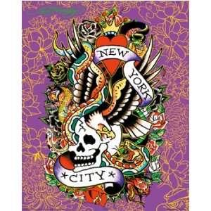 Ed Hardy   Mini Tattoo Poster Print (New York City) (Size
