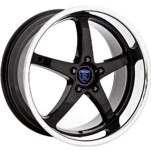Rohana RL05 18x8 18x9 Infinity Nissan Lexus Wheels Rims Black Chrome