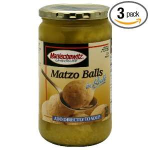 Manischewitz Matzo Ball In Broth Jar Grocery & Gourmet Food